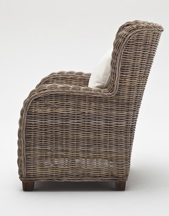 Queen Wicker Chair, Rattan Wicker Arm Chair
