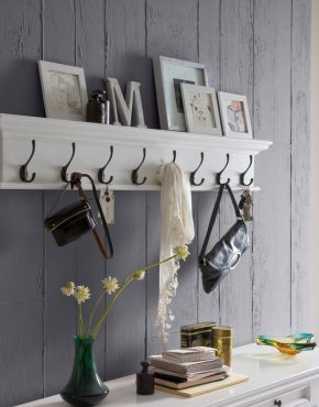 8 Hook Coat Rack