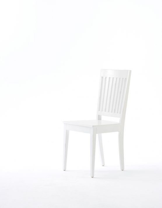 Home Furniture Manufacturer, White Wood Dining Chair