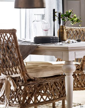 Aristocrat Wicker Dining Chair
